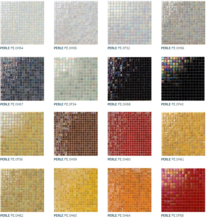 mosaico + perle marafon